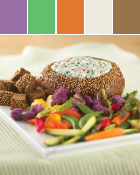 Spinach Dip Designed By Canadian Home Trends Magazine via Stylyze