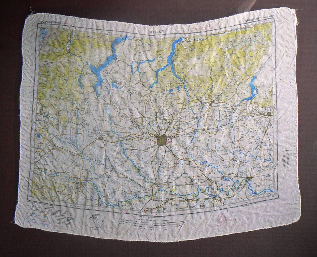 My grandfather made maps like these in
