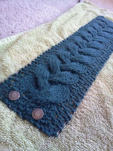 Cable Headband Lovely Free Pattern Tricot Pinterest Free