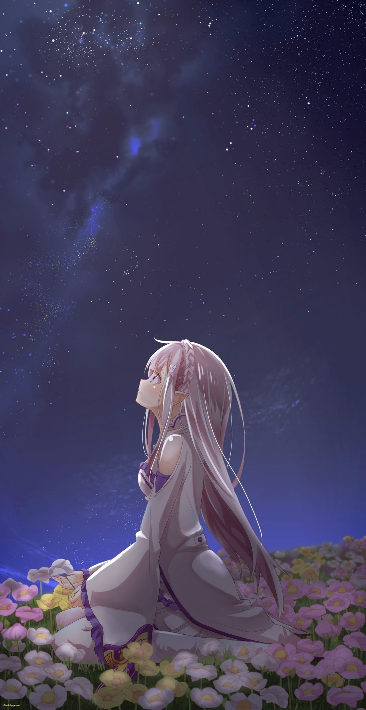 Emilia Anime background, Hd anime wallpapers, Anime
