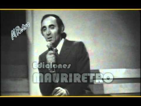 Venecia Sin Ti Charles Aznavour En Español Youtube Musica Para Recordar Musica Romantica Videos Musicales