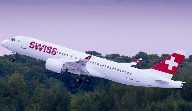 Bombardier entrega a Swiss su primer CS300