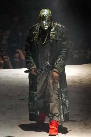 Kanye West S Yeezus Outfits Include Custom Maison Martin Margiela Kanye West Kanye West Yeezus Yeezus Tour