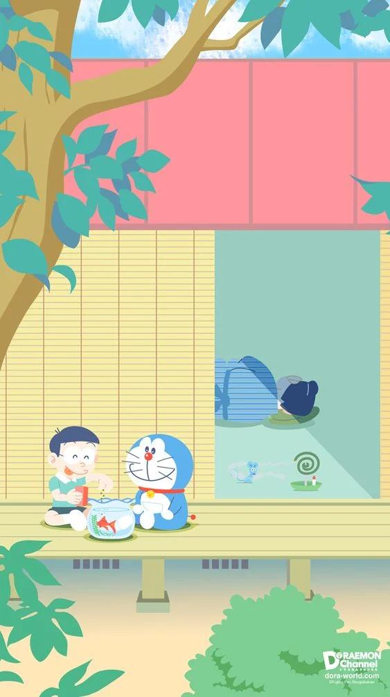 Doraemon Background Powerpoint