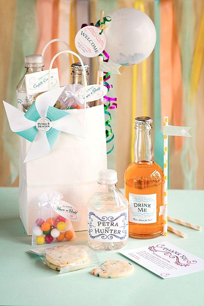 Whimsical Wedding Welcome Basket | Whimsical wedding, Whimsical and ...