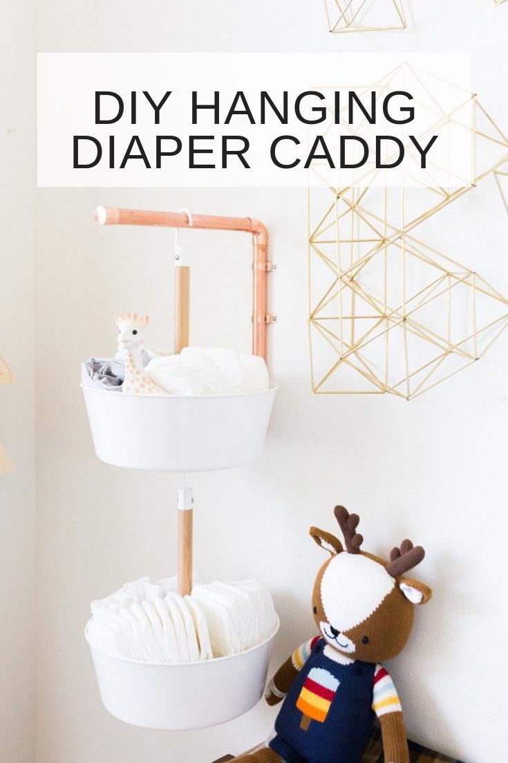 Diy Hanging Diaper Caddy Diy Hanging Diaper Caddy Diy Diaper Caddy