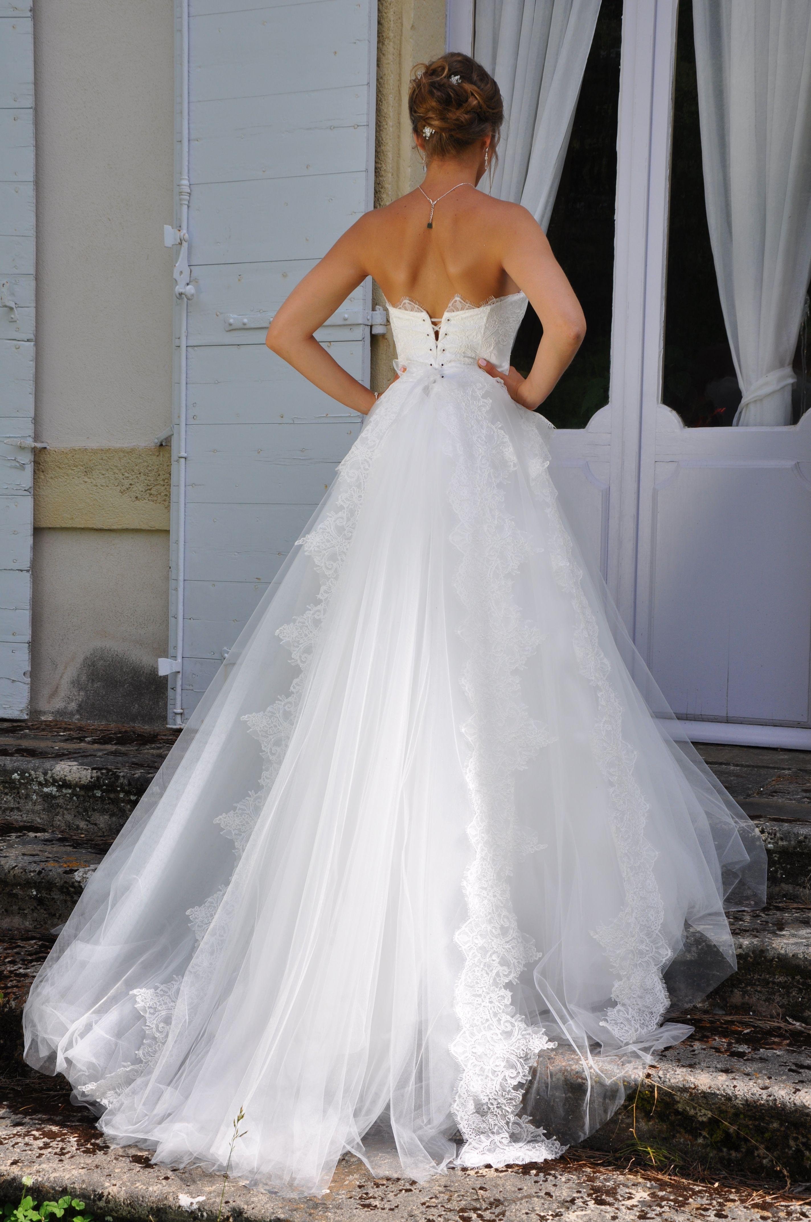 robe de mariée romantique. modèle CANDY collection les ...