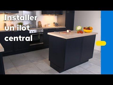 Installer une cuisine et un plan de travail - Vidéo bricolage - installation plan de travail cuisine