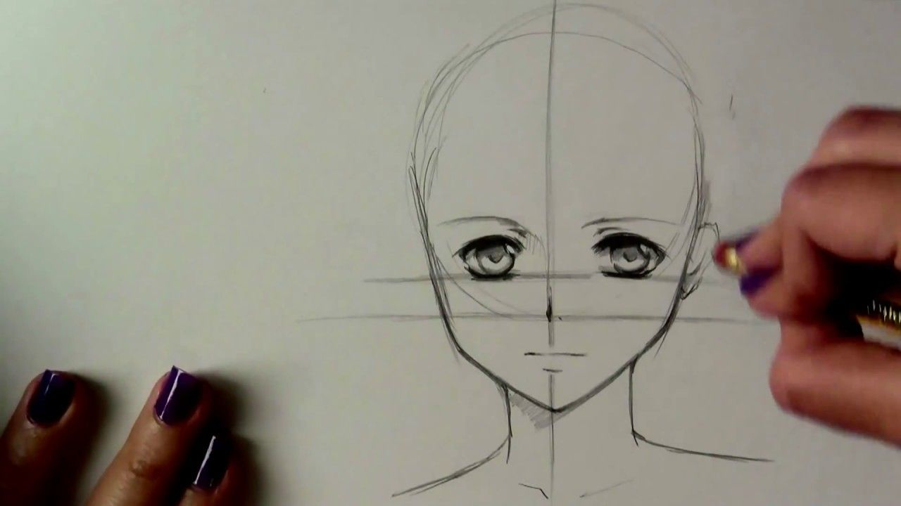 تعلم رسم أنمي للمبتدئين How To Draw Anime Anime Drawings