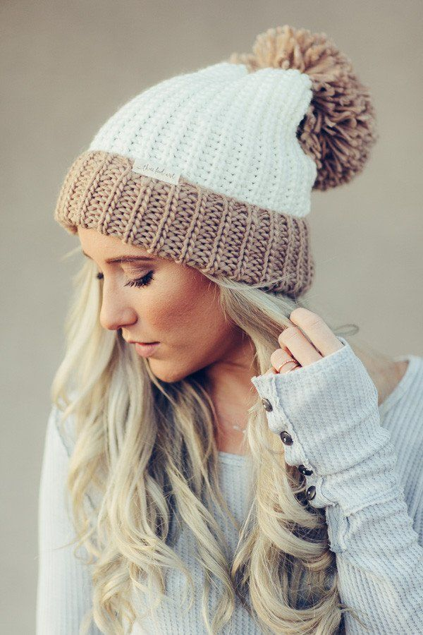 15ee94c29981b5 Log Cabin Pom Beanie-beanie-Affordable Online Boutique | Cute + Trendy  Women's Clothes - 1
