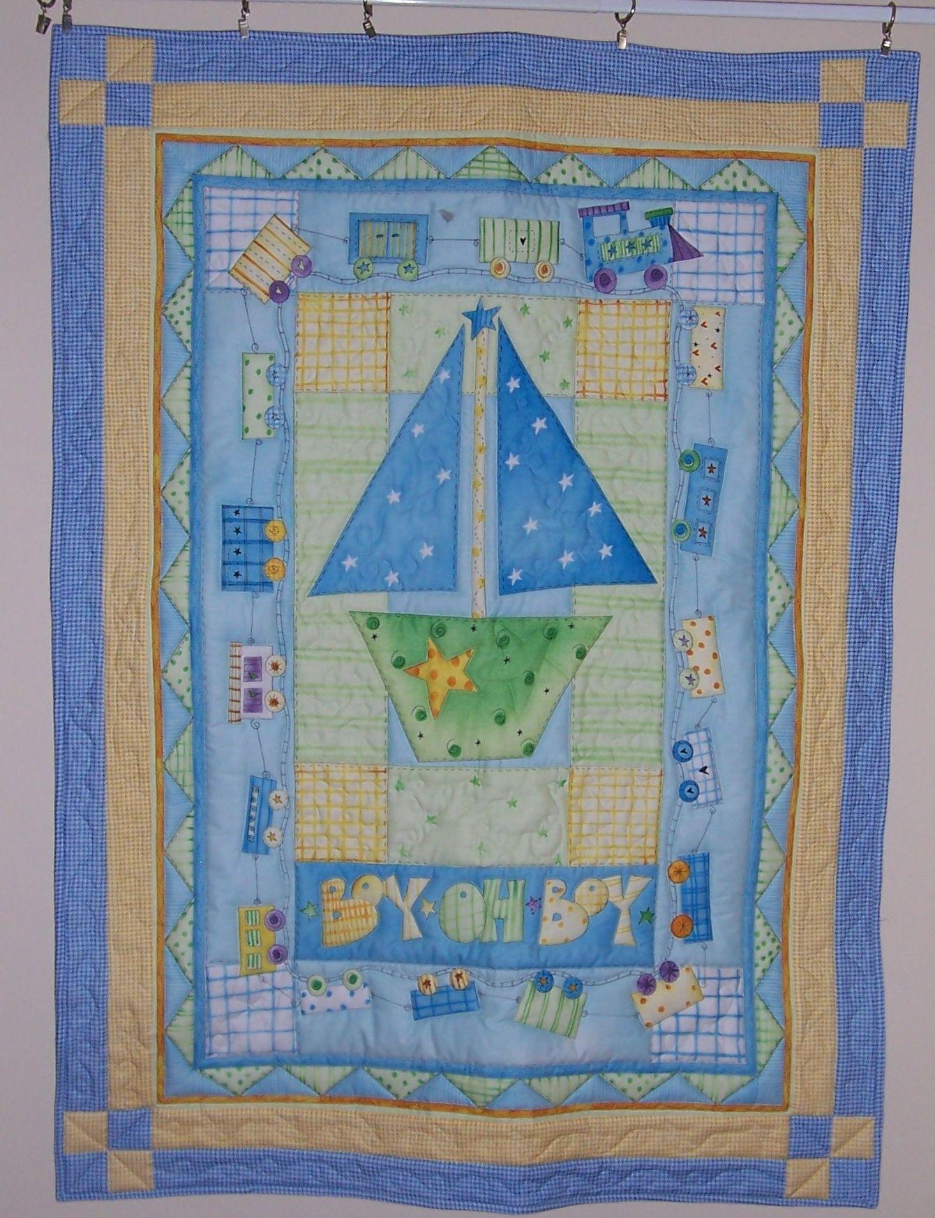 Little Boy Blue - http://www.baby-quilts-etc.com/images/100_1626 ... : little boy quilts - Adamdwight.com