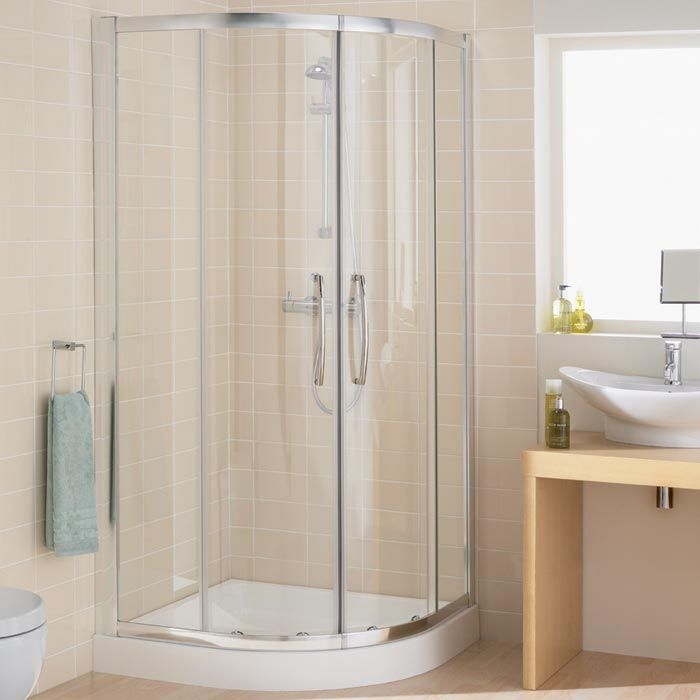 Corner Entry Shower Cubicle 900mm Quadrant Shower Enclosures