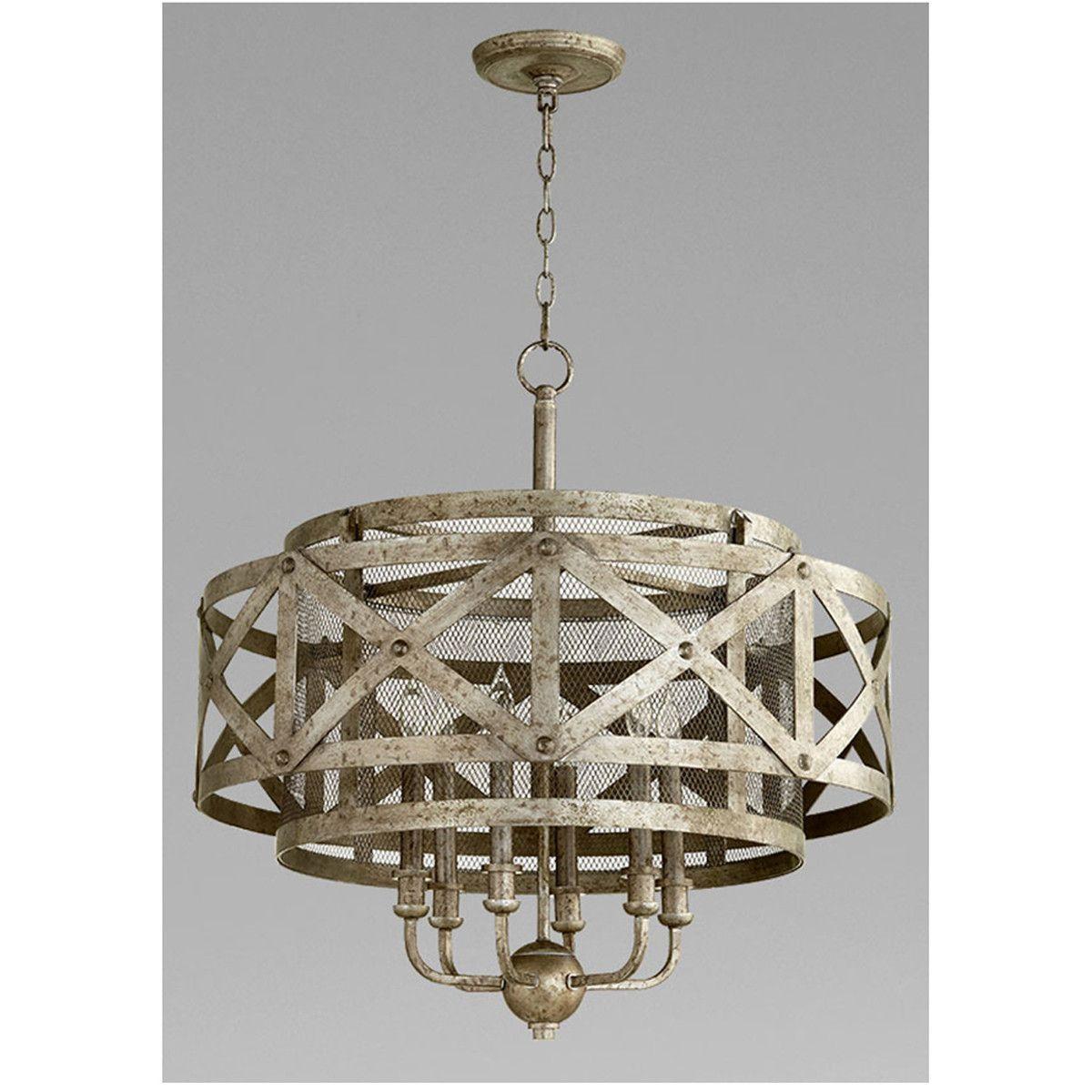 cyan design byzantine metal pendant