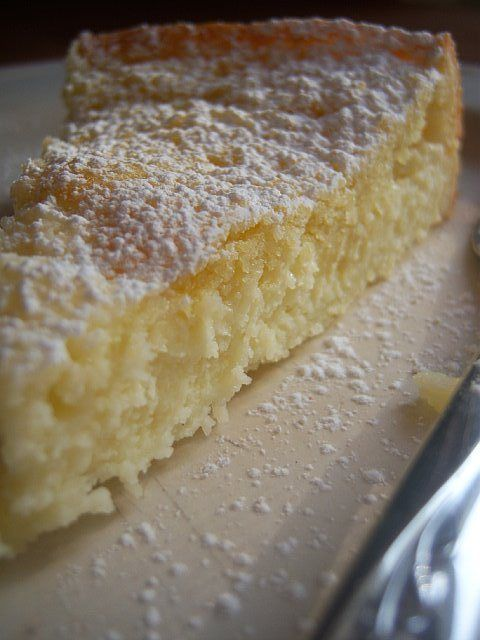Lemony Cream Butter Cake