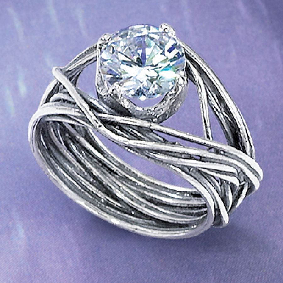 I Kinda Really Dig The Band On This Ring Cz Partner New Age Spiritual Gifts At Pyramid Collection