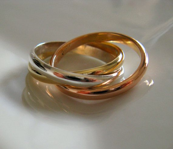 Cartier Infinity Love Ring Russian Wedding Ring by Amallias