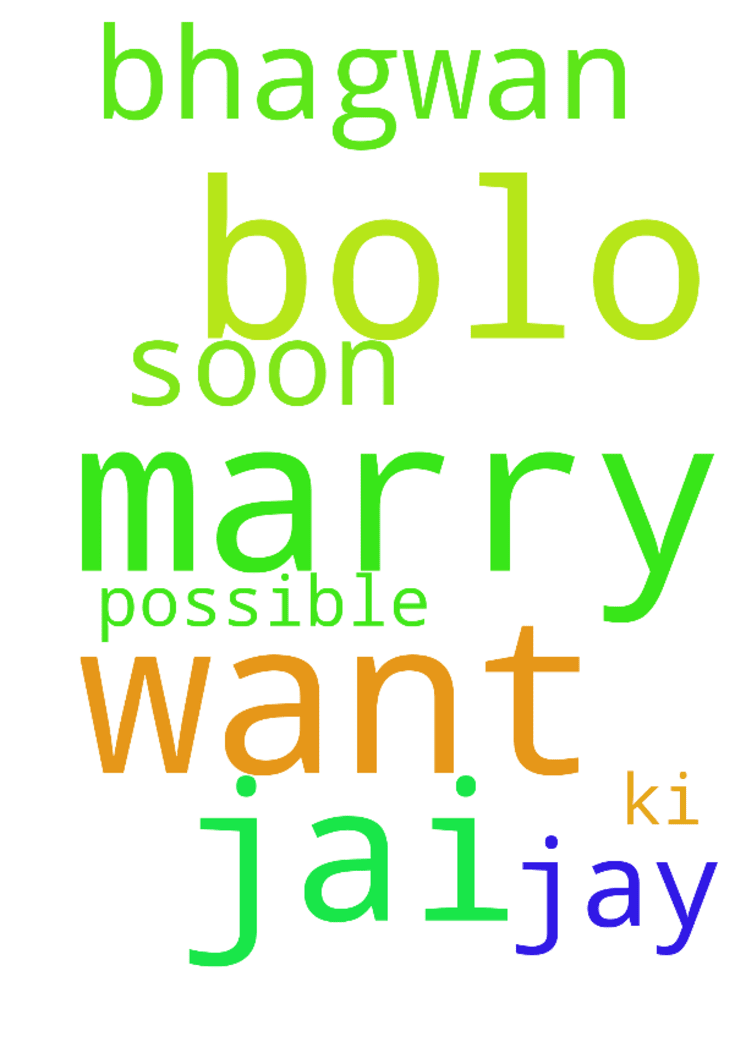 jai bolo am marry with whom i want to be - jai bolo am marry with whom i want to be s soon as possible bhagwan ki jay Posted at: https://prayerrequest.com/t/CEO #pray #prayer #request #prayerrequest