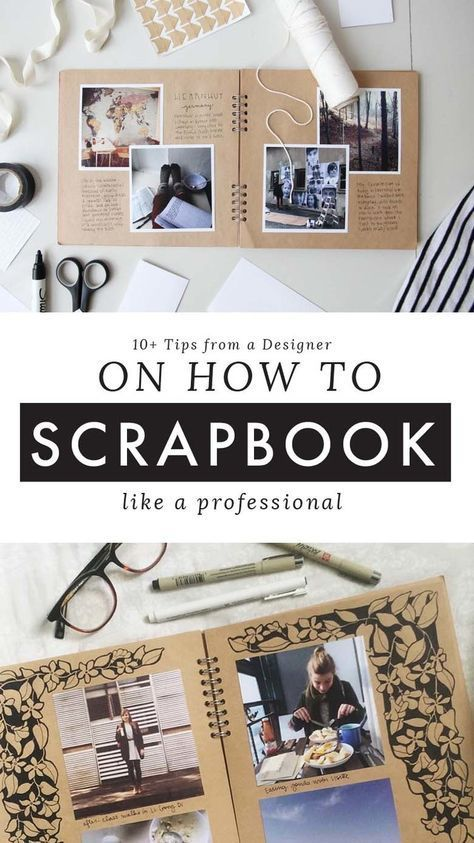 10+ Tips on How to Scrapbook Like a Pro — Root & Branch Paper Co. #diyideas