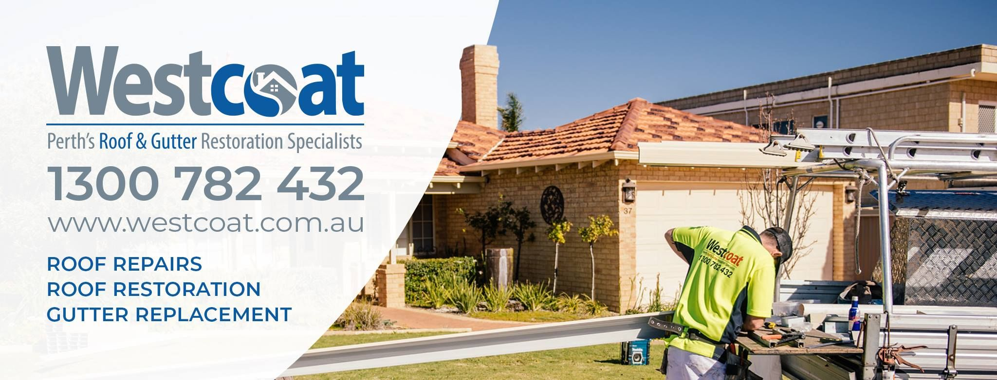 Westcoat Perth S Roof Gutter Restoration With Images Roof Restoration Roof Repair Gutter Repair