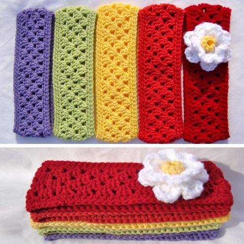Granny Stripe Headband/Earwarmer - Free Pattern   Crochet Headband ...