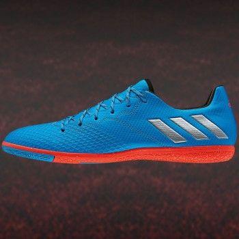adidas Messi 16.3 IN Fußball Hallenschuh blau rot