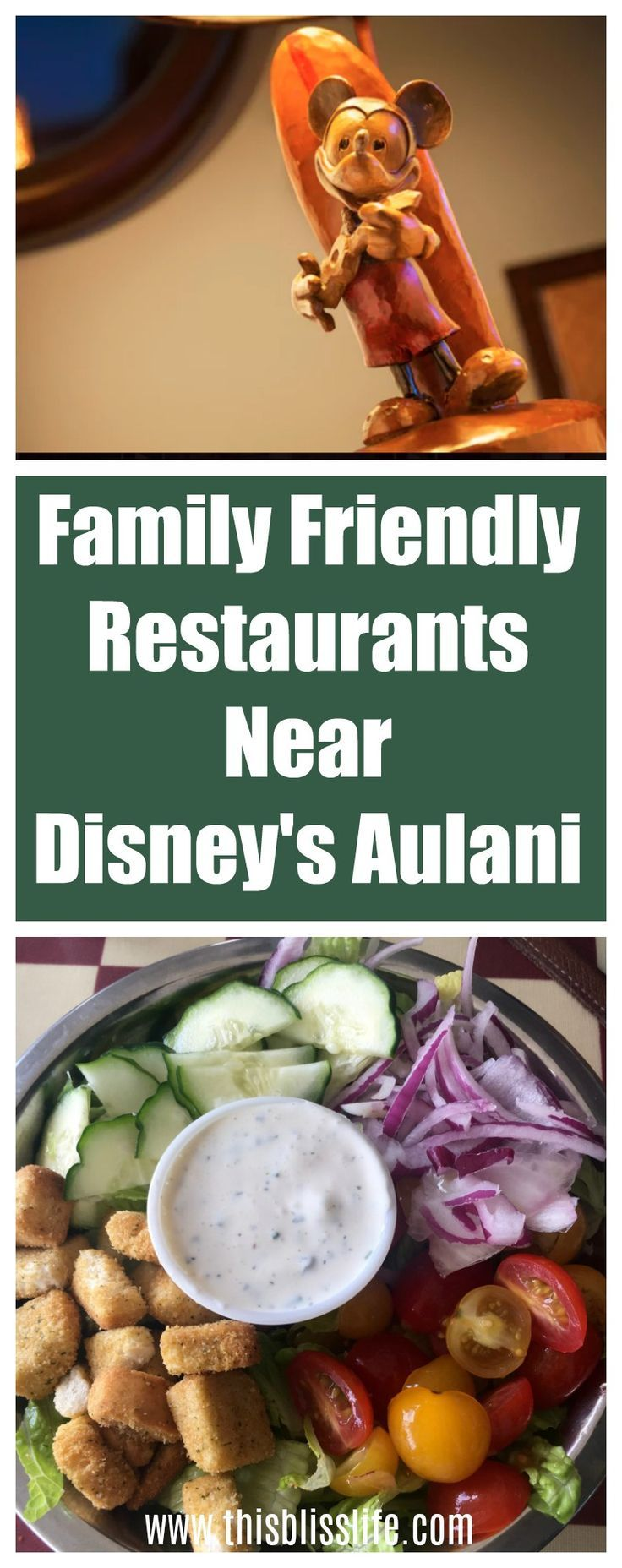 Heading To Disney S Aulani Resort In Hawaii Here Are A Few Fantastic Family Friendly Restaurants Near