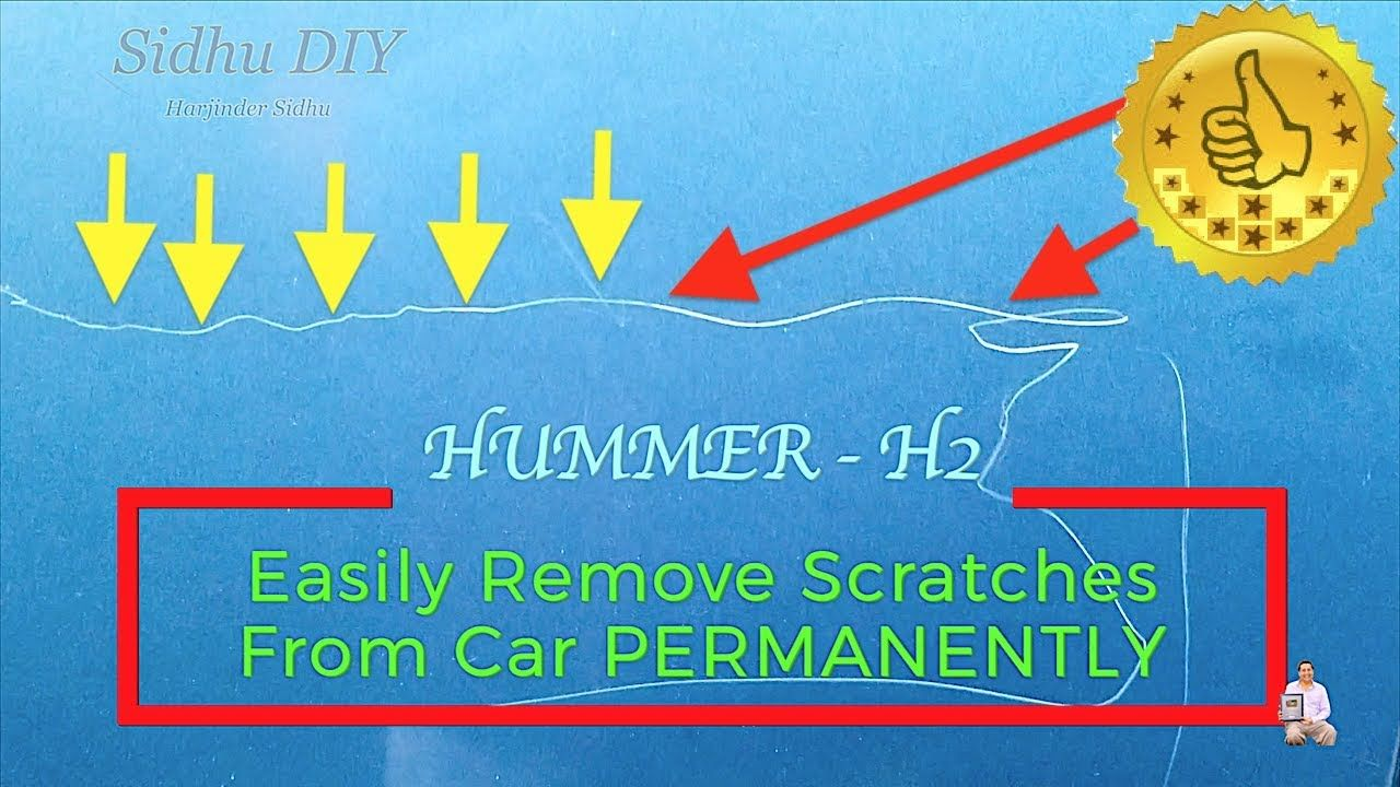 Easily remove scratches from car permanently car wax