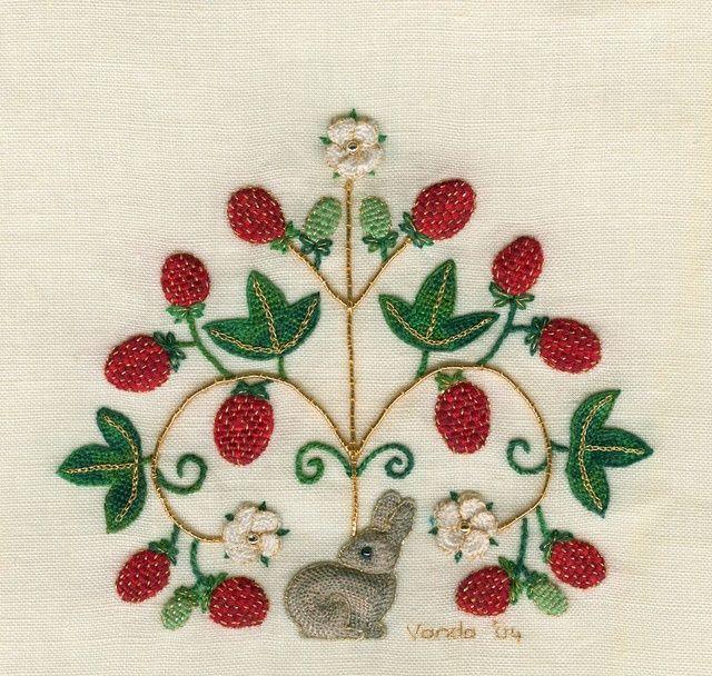 Elizabethan Embroidery Designs Maree Talbot Elizabethan Hare