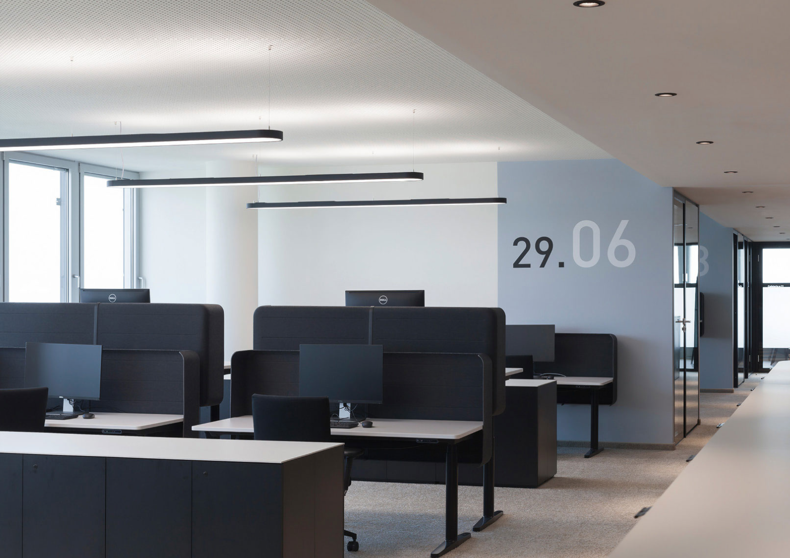 LED Profiles Direct/indirect Light From XAL Showroom In Denmark :  Www.ankerco.