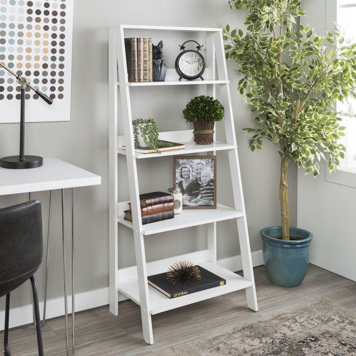 shelves ladder bookshelf and wood ladder