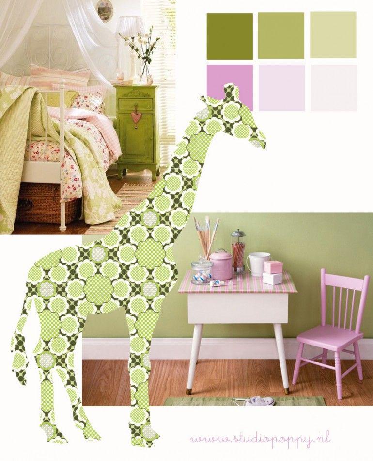 blog groen roze 2 - babykamer groen roze | pinterest - roze, groen, Deco ideeën