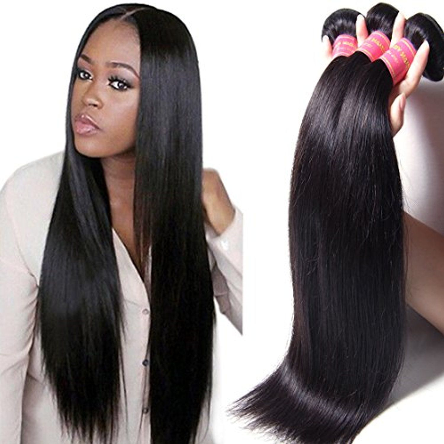 Jolia Hair Malaysian Virgin Hair Straight Human Hair  Bundles A