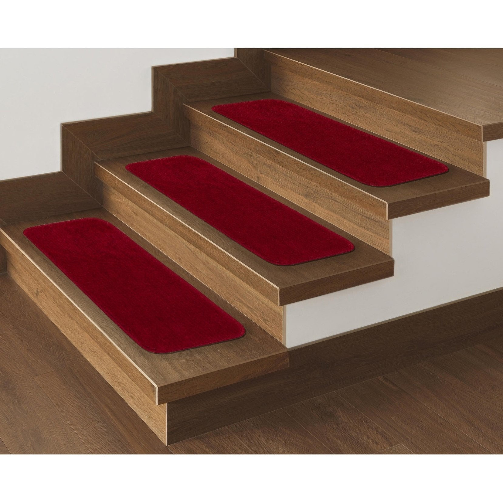 Best Ottomanson Comfort Collection Soft Sh*G Solid Design Stair 400 x 300
