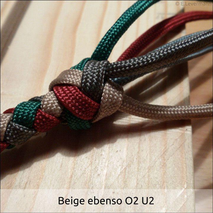 4 Strand Round Braid w/ Gaucho Knot | Craft - Knot Tying