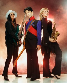 Prince 30 Years in Pictures — Rhonda, Prince and Candy