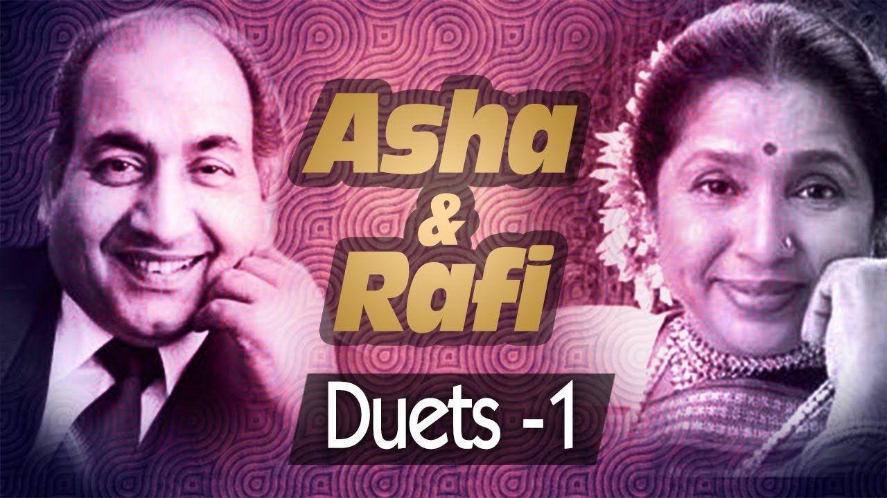 Best of Mohd Rafi & Asha Bhosle Duets - Jukebox 1 - Top 10