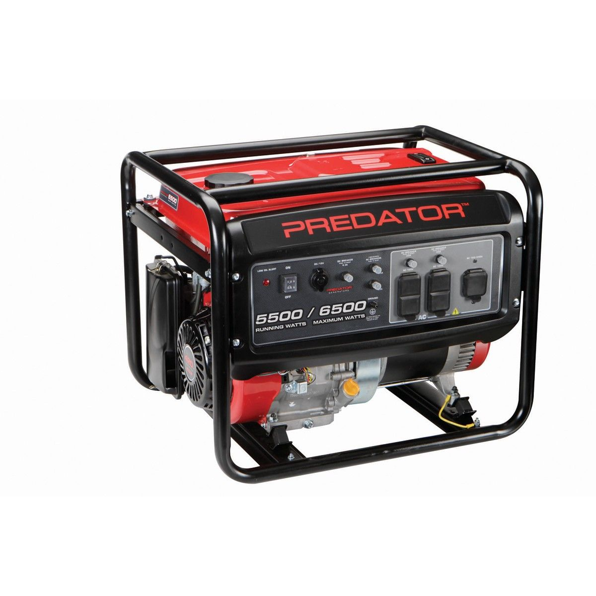 Predator Generators 68529 420cc 6500 Watts Max 5500 Watts Rated Portable Generator Gas Generator Gas Powered Generator Generation