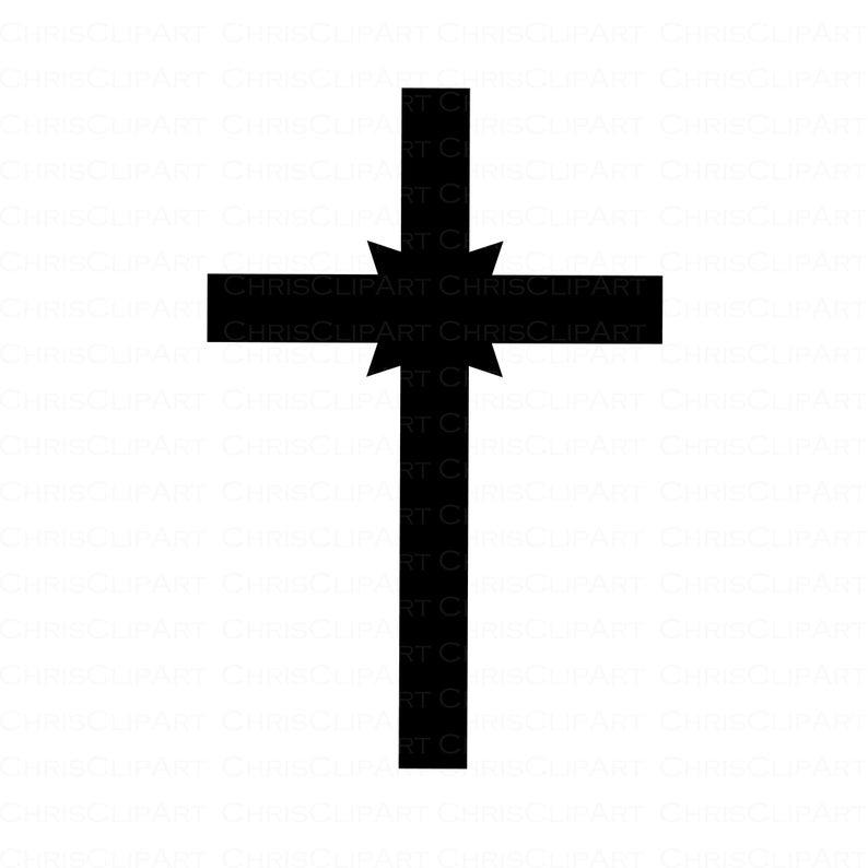 Cross Svg Clipart Cross Cricut Cross Cross Silhouette Etsy Cross Silhouette Cross Svg Clip Art