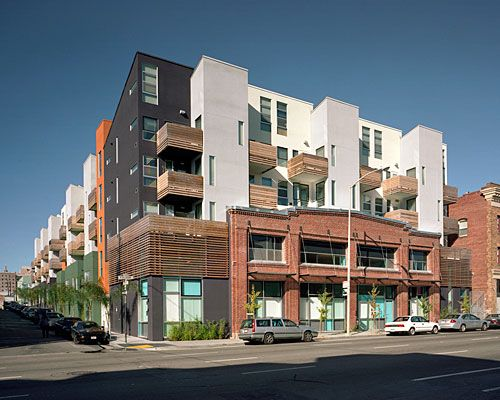 Folsom And Dore Affordable House Units David Baker Partners Db P San Francisco Ca Building Facade Architecture Affordable Housing