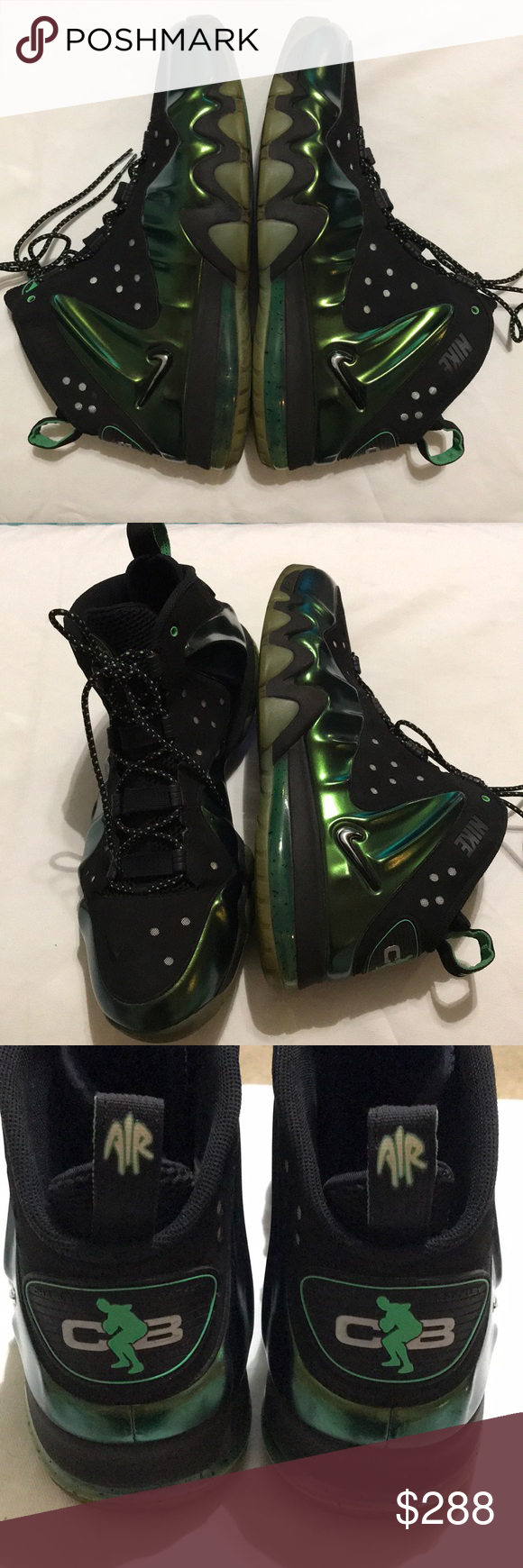 huge selection of 90b90 82c3c Nike 14 Barkley Posite Max eggplant Nice Charles Barkley Nike shoes Size 14  Posite Max Eggplant Very good to excellent previously owned condition 1723  Nike ...