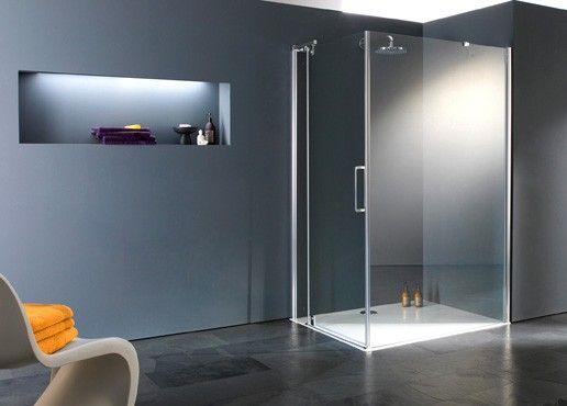 glaswand | mozaiek | badkamer | bathroom | salle de bain, Badkamer