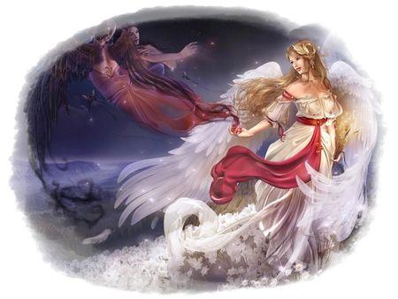 wonderful angels fantasy wallpaper id 846636 desktop