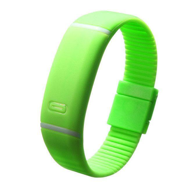 Waterproof LED Bracelet Watches Children Women Watch Men Digital Silicone Wristwatch Sports Shock Fashion Clock