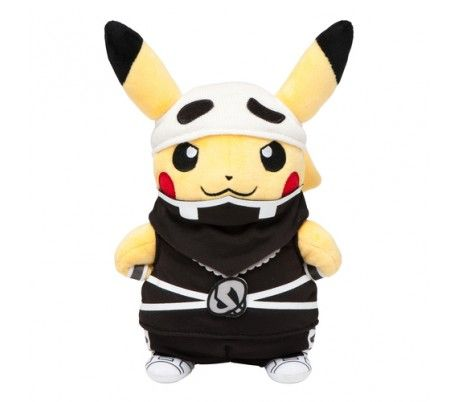 Pokemon Center Original Plush Doll Pika Vee Let/'s Go Eevee Patrol