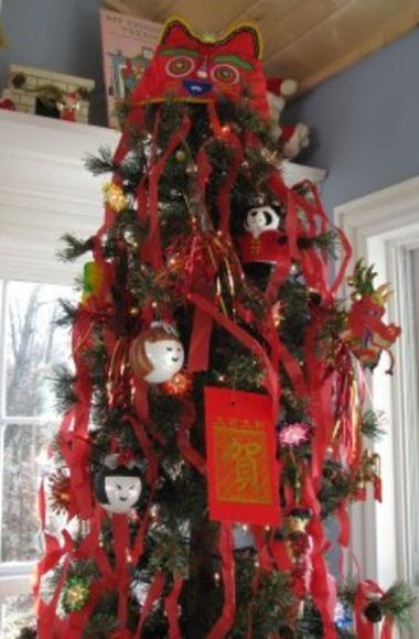 Chinese Christmas Tree From Http Kenward Blo Asian