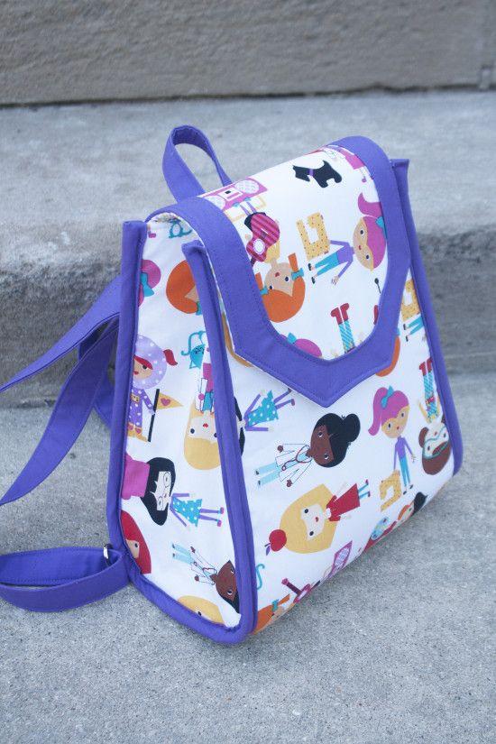 Back-to-School: Promise Ring Backpack | Pinterest | Beutel, Nähen ...