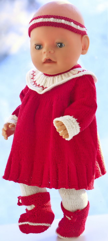 Photo of doll knitting patterns