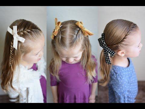 Three 5 Minute Rope Braid Styles Q S Hairdos Youtube Girl S
