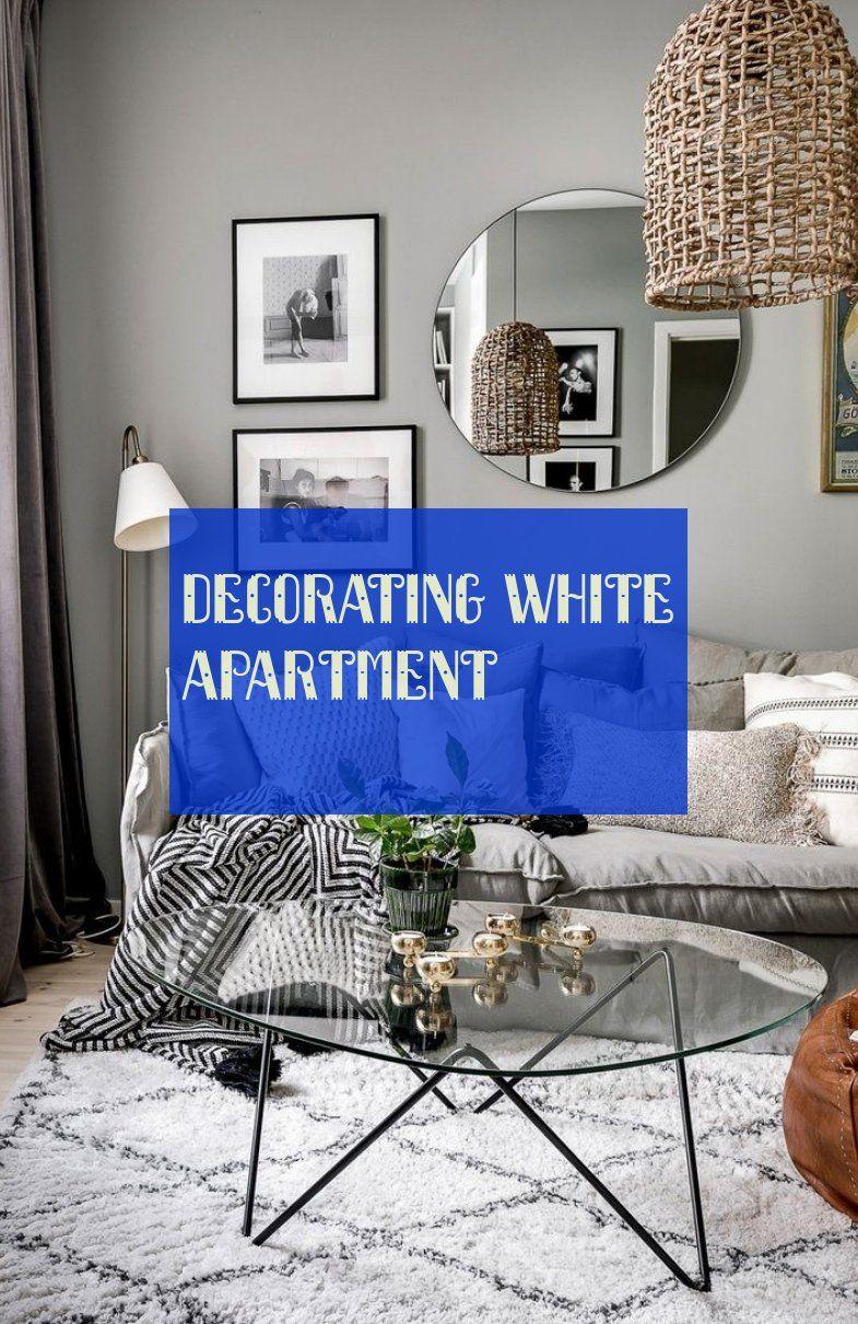 decorating white apartment