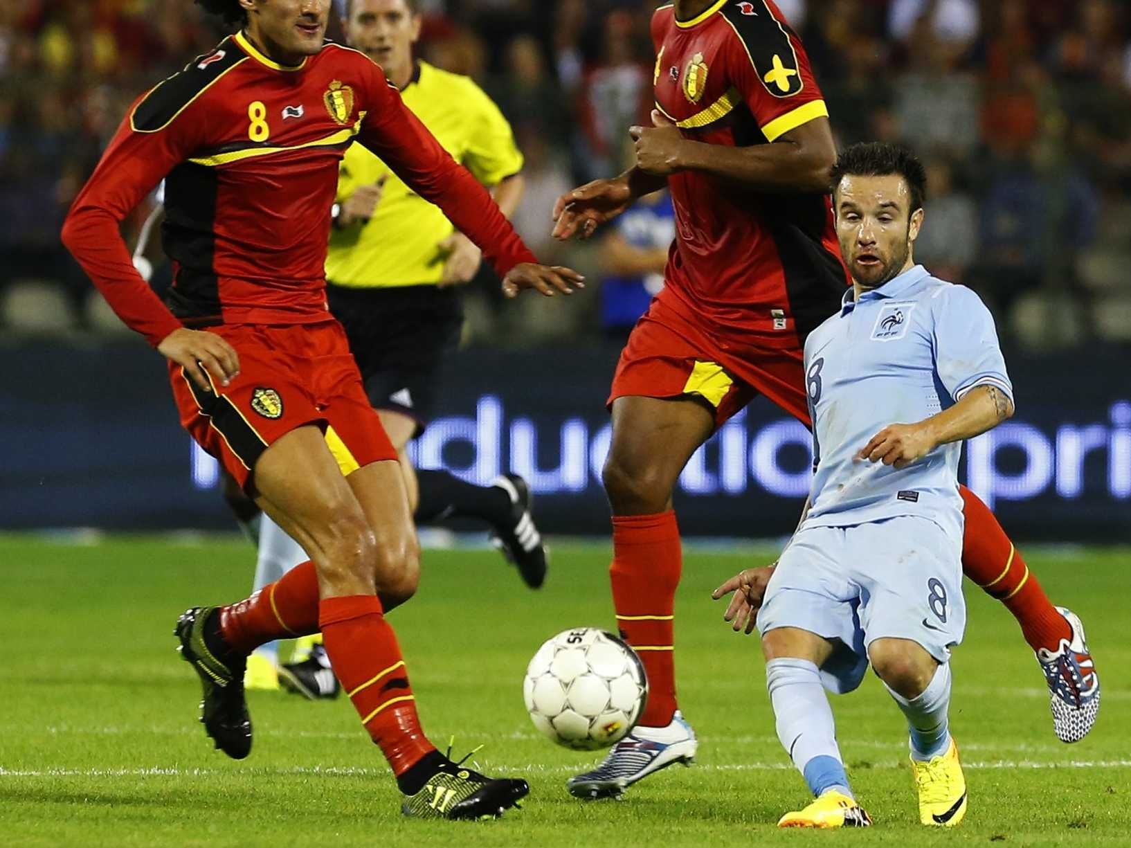 A Mind Blowing A French Soccer Player Looking Absurdly